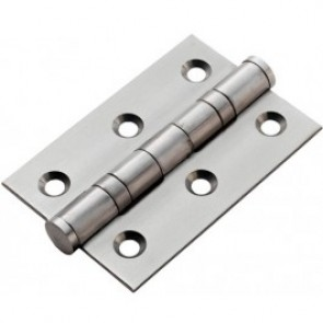 "3"" Ball Bearing Butt Hinges (pair) - Stainless Steel"