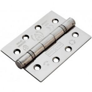 "4"" Ball Bearing Butt Hinges (pair) - Stainless Steel"