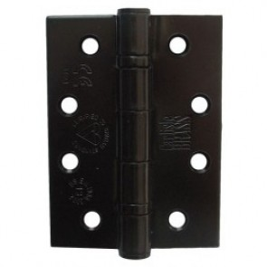 "Steel Ball Bearing Butt Hinges - Black (3"" & 4"")"