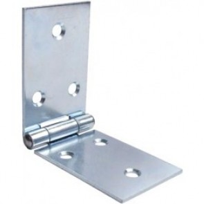 Back Flap Steel Hinges (pair) - Galvanised
