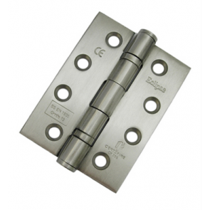 """Eclipse 4"""" Fire Rated Ball Bearing Butt Hinge (Pair) - SSS"""