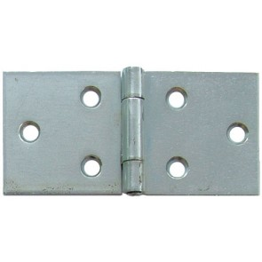 "2"" Uncranked Back Flap Hinge (pair) - Self Coloured"