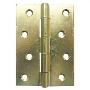 Steel Butt Hinges (pair) - Electro Brass