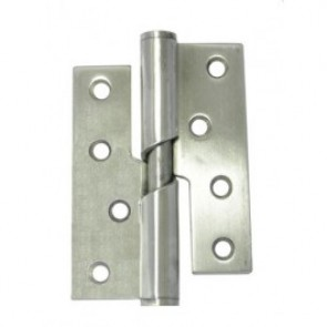 SS Rising Butt Hinges (pair) - Satin Stainless Steel
