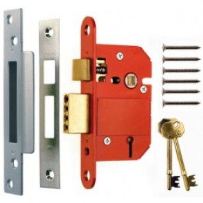 Era British Standard Fortress 5 Lever Sashlock - Satin