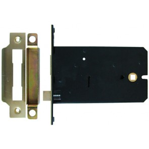 Imperial 5 Lever Horizontal Sash Lock - Brass