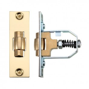 50mm Adjustable Roller Catch Brass