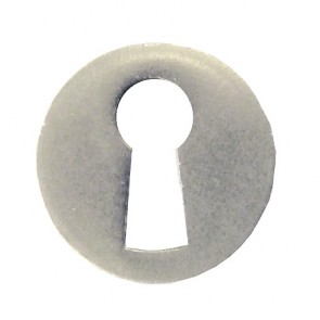Escutcheon 22mm Round Matt - Nickel Plated