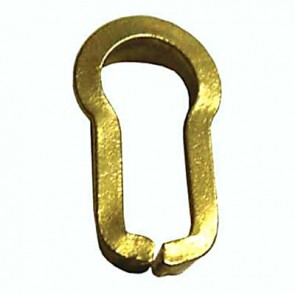 14mm Brass Insert Escutcheon