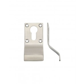 Euro cylinder Pull - Satin Stainless Steel