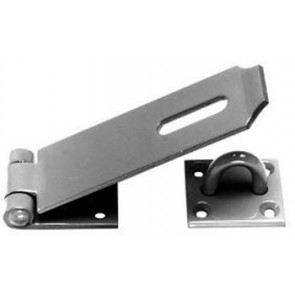 "4.5"" Black Hasp & Staple"