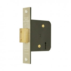 "5 Lever Mortice Dead Lock 4"" - Stainless Steel"
