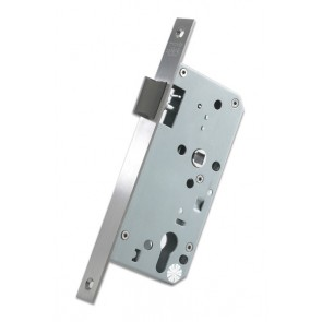 DIN Latch 60mm Backset - Satin Stainless Steel