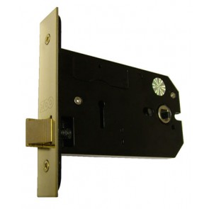 "5"" Horizontal Latch PVD Brass"