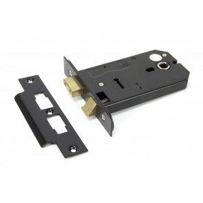 "5"" Horizontal 3Lever Lock Black"