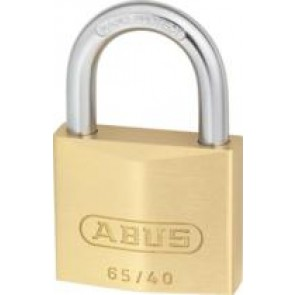 Abus Brass Padlock Twin Pack 65/40