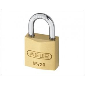 Abus Brass Suitcase Padlock 65/20