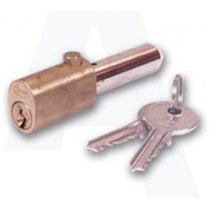 Asec Oval Bullet Lock 45mm KA - Brass