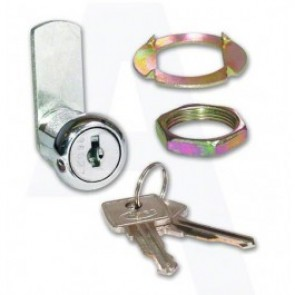 Asec Nut Fix Camlock KD - Chrome Plated