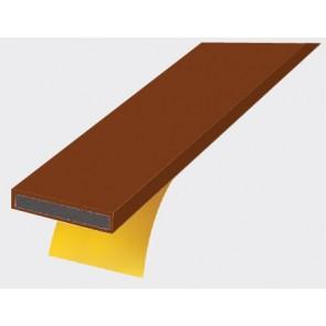 15mm x 4mm Intumescent Strip Brown 2.1m (30min)