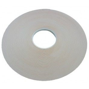 Security Glazing Tape 3mm x 12mm x 25m White