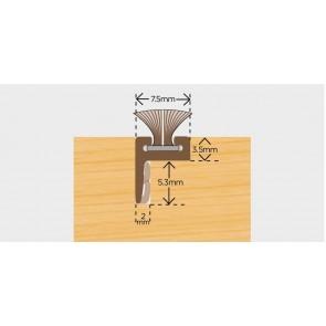 Exitex Brush Pile Carrier Offset Leg 2.2m - Brown