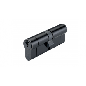 45/45 Euro Cylinder KA - Black