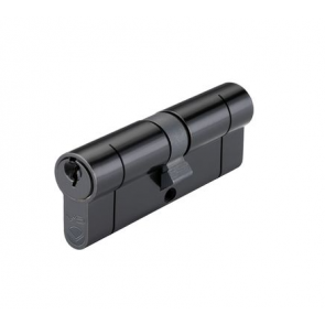 45/55 Double Euro Cylinder Keyed to Differ - Black