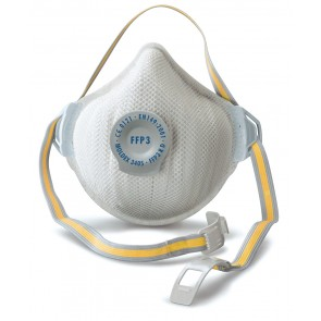 FFP3 High Toxic Dust Mask with valve (Each)