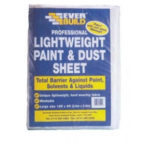 Everbuild Professional Dust Sheet 12'x9'