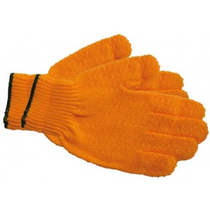 Gloves Yellow Criss Cross