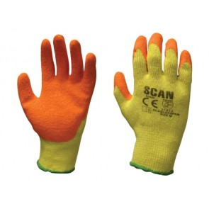 Multi Purpose Latex Grip Gloves - XL (Size 10)