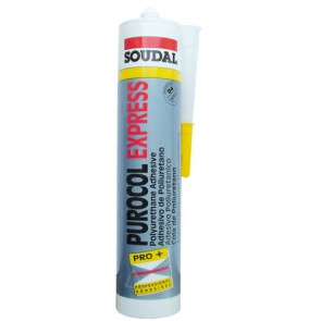 Gun PU Soudal Rapid 310ml Tube