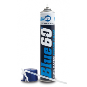 Exitex - Blue 60 Hand Held Fire Rated Foam 750ml - Box of 12