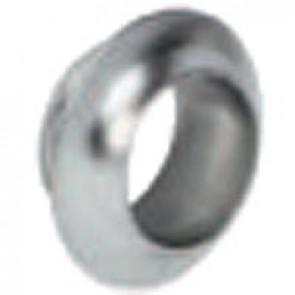 Rosette Pol Chrome 34x17mm