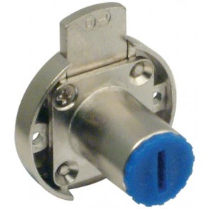 Inlaid Lock Nickel Pl B/s 20mm