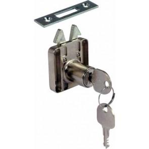 Roller shutter rim lock - ø18 mm cylinder