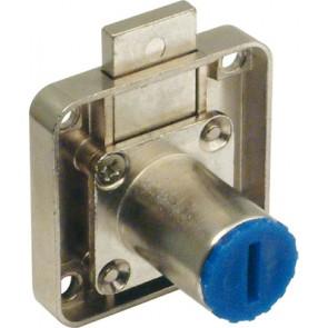 Symo 3000 short bolt travel rim lock case, for drawers