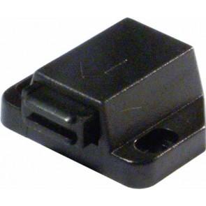 Magnetic Catch Plastic Black