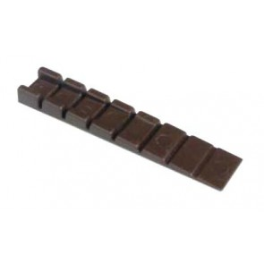 Plastic Wedge Strip - Brown