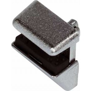 Shelf Clamp Support - plug in - Nickel Plated