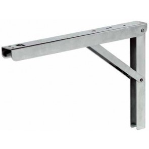 Adjustable hinged bracket - 200 kg load capacity,