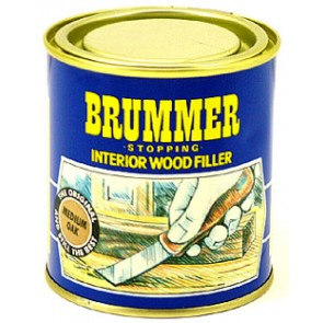 Brummer Interior Wood Filler 250g - Various Finishes