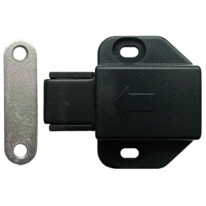Magnetic Pressure Catch Black