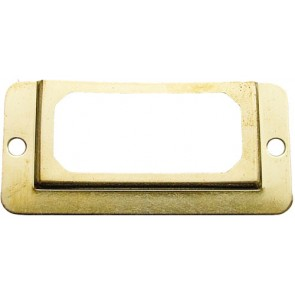 Card Frame - Electro Brass