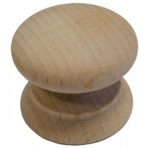 Wooden Cupboard Knob - Beech