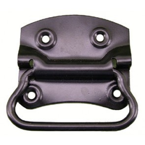 Chest Handle 100mm x 70mm - Epoxy Black