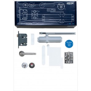 Complete Fire Door Kit for Locking Bathroom Doors