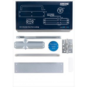 Complete Fire Door Kit for Non-Locking Corridor Doors