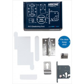 Complete Fire Door Kit for Deadlocking Doors